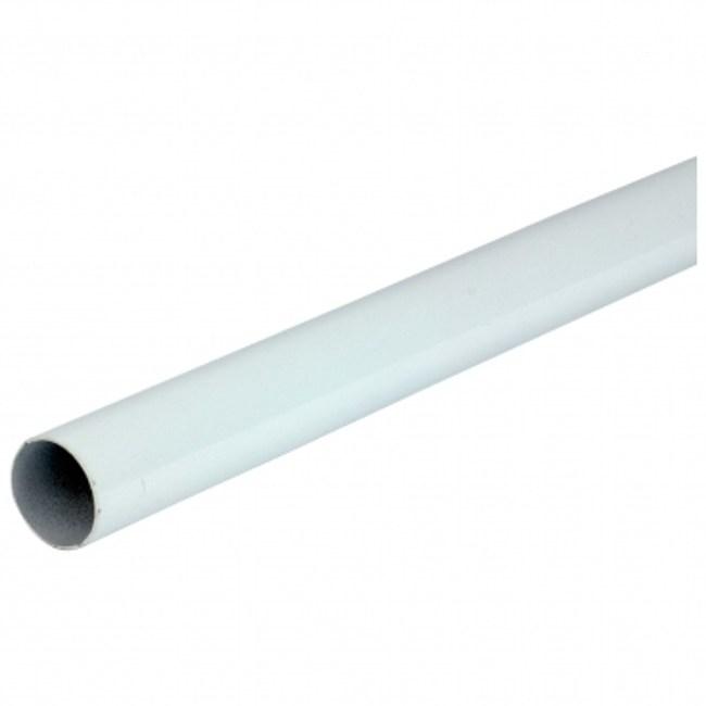 6分鐵管3尺白色