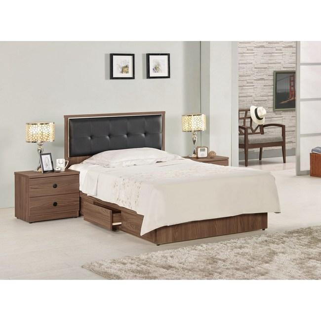 諾艾爾3.5尺床片型單人床組