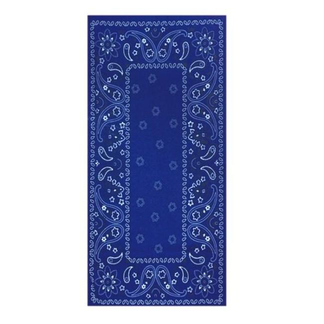 【A-Magic】多功能魔術頭巾-藍色變形蟲