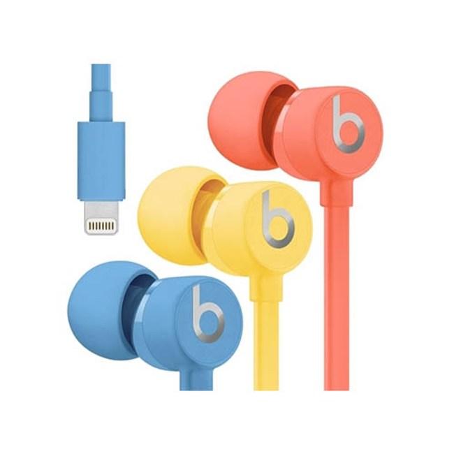 Beats urBeats3 Lightning 橘 耳道式耳機 線控