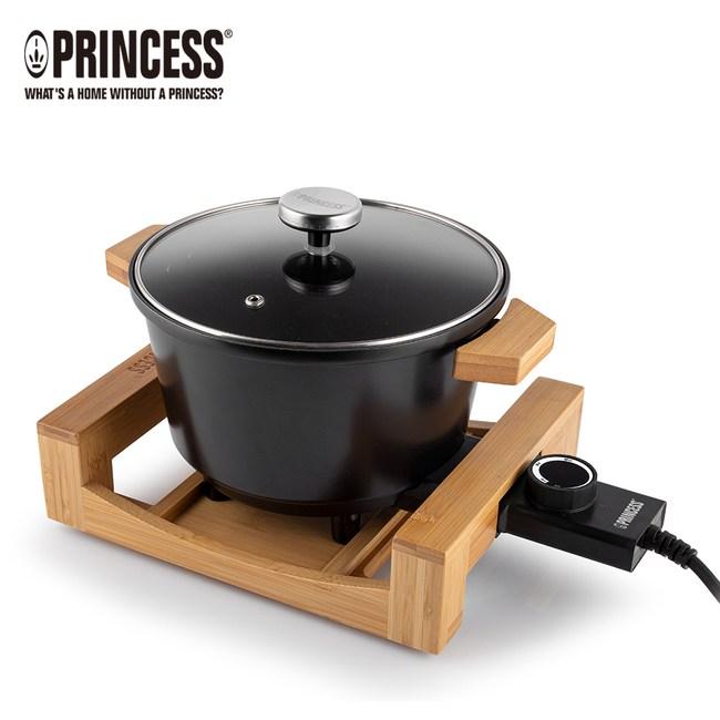 《下殺送好禮》PRINCESS荷蘭公主多功能陶瓷料理鍋(黑)173026