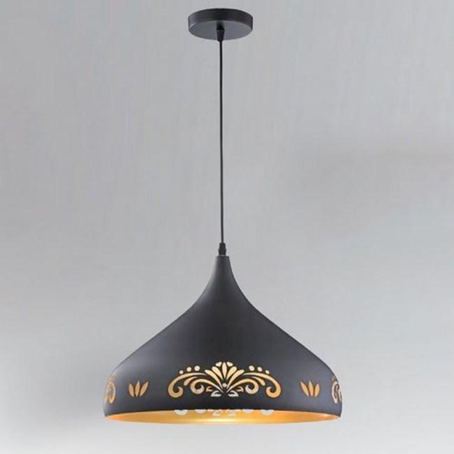 【PW居家燈飾】 藝術風單吊燈/吧檯燈/餐吊燈  黑色線割 11672