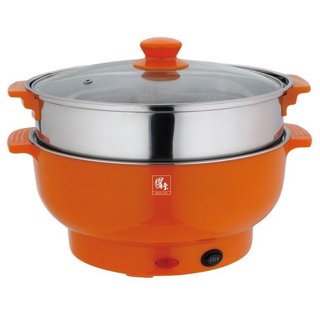 【鍋寶】3.5L多功能料理鍋 EC-350-D