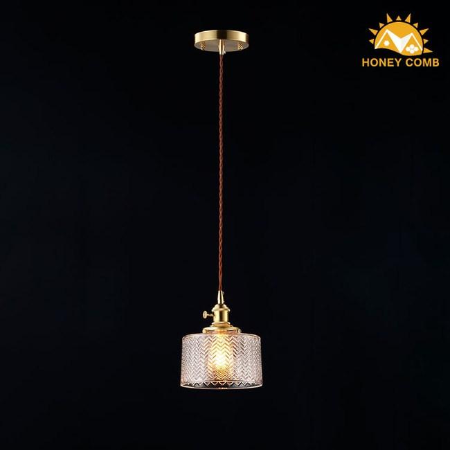 HONEY COMB 高工藝玻璃單吊燈 TA7660R