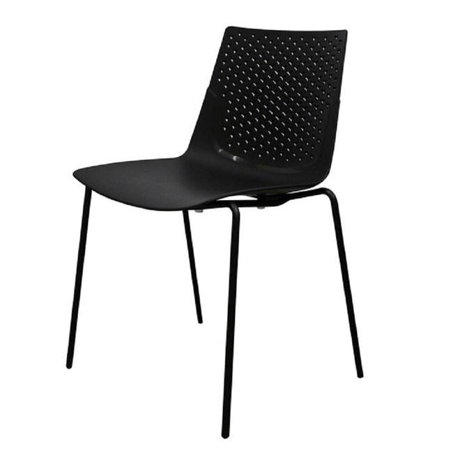 【YOI傢俱】波里餐椅-黑