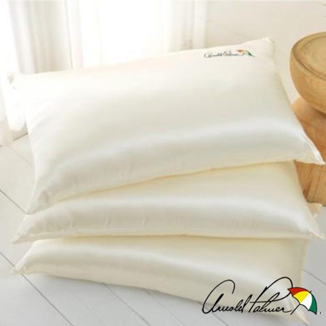 Arnold Palmer雨傘牌 珍珠絲超柔保溫枕2入