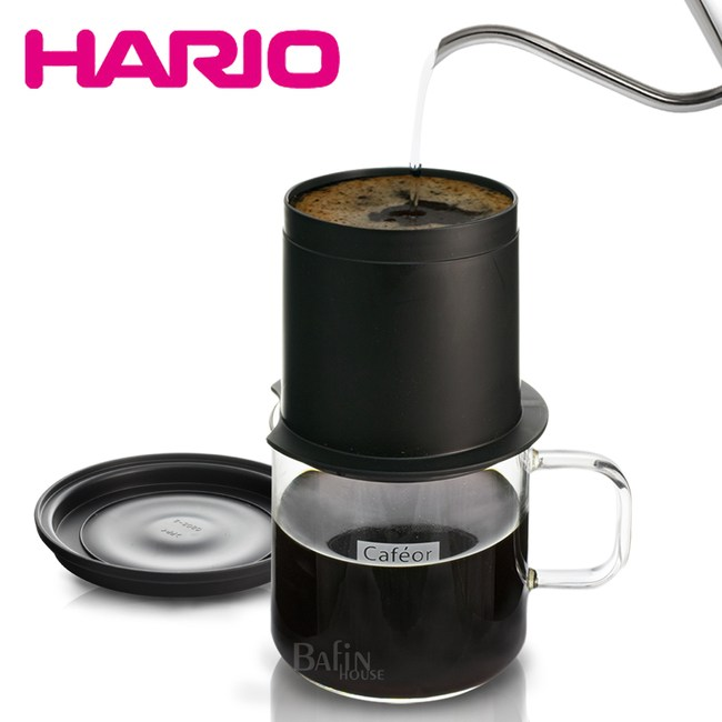 【HARIO】不鏽鋼濾網獨享杯組(CFO-1B)