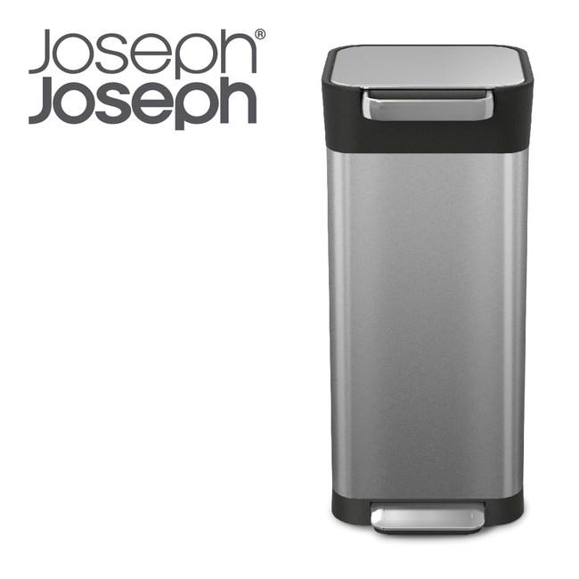 Joseph JosephTitan聰明環保壓縮式垃圾桶 不鏽鋼20L