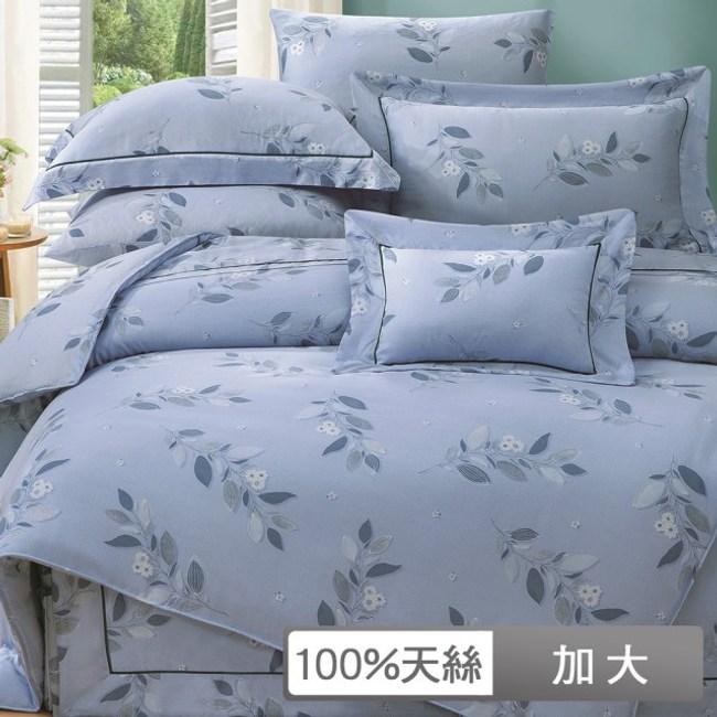 【貝兒居家寢飾生活館】裸睡系列60支天絲兩用被床包組(芮薇絲/ 加大雙人)