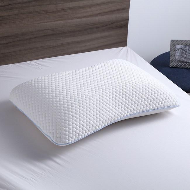 冰涼絲記憶釋壓雙面枕 護頸型