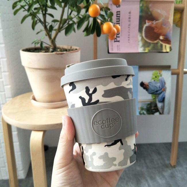 Ecoffee Cup 環保隨行杯12oz(迷彩灰)
