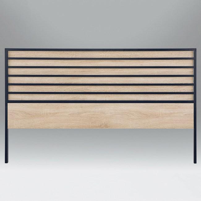 【YFS】黛娜北原橡木5尺床頭片-154x4x91cm