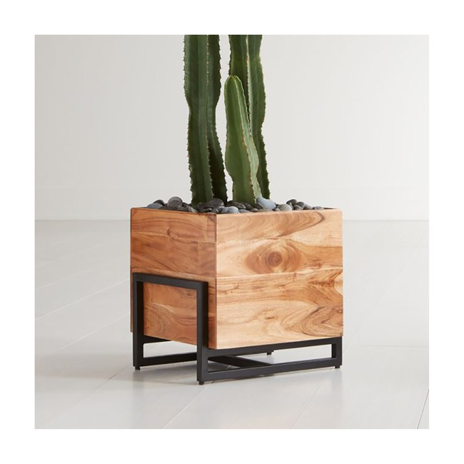 Crate&Barrel Arcaydia 木質花器 (L)