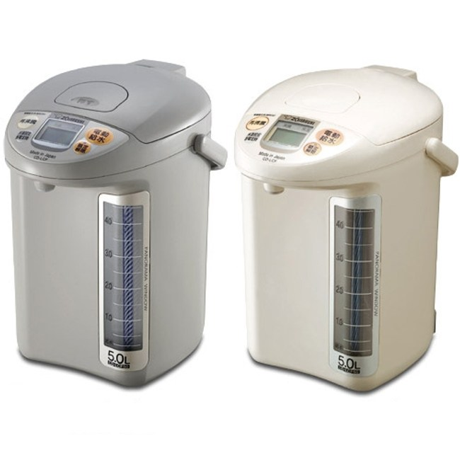 【象印ZOJIRUSH】5L微電腦電動熱水瓶(白) CD-LGF50-WG