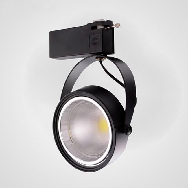 【光的魔法師】AR111 LED大角度投射燈LED軌道燈10瓦(黑殼)黃光