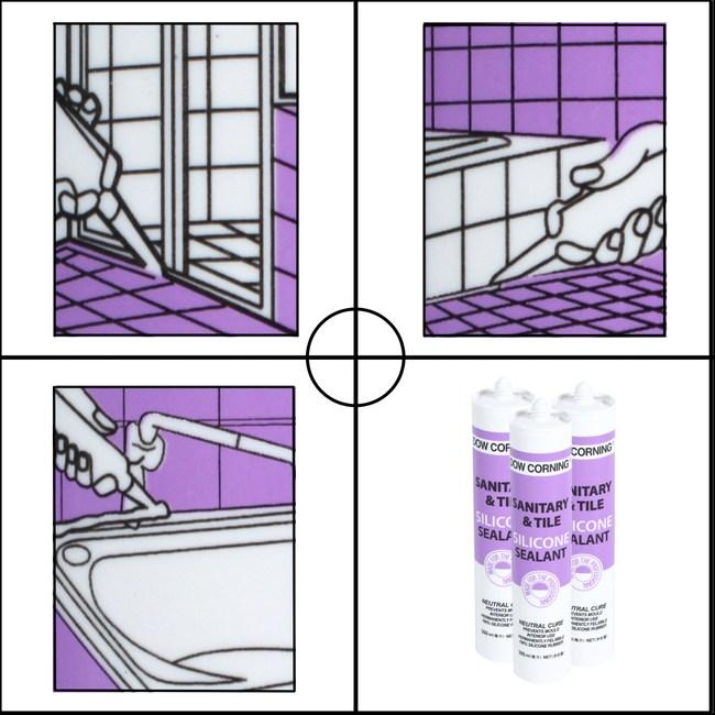 道康寧矽利康 透明 廚浴用