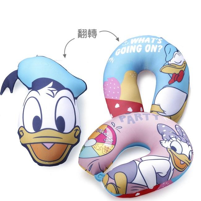 HOLA 迪士尼系列唐老鴨翻轉頸枕