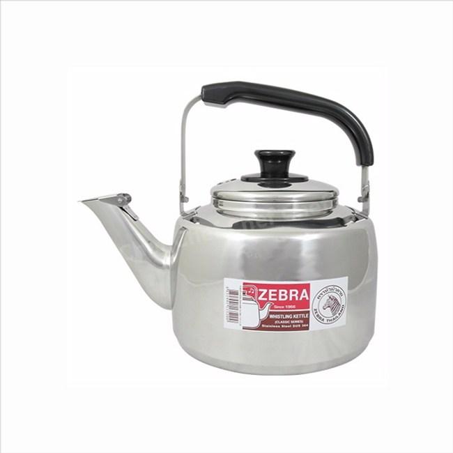 斑馬牌不銹鋼笛音茶壺2.5L厚製鋼板鍋身