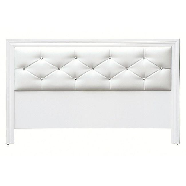 【YFS】尼克勒斯5尺白色床頭片-154x2x93cm
