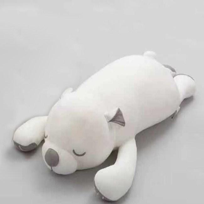 涼感大白熊抱枕100cm