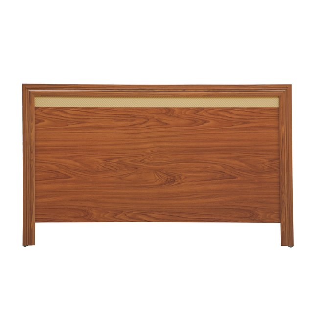 【YFS】昆頓3尺柚木床頭片-94x2x92cm