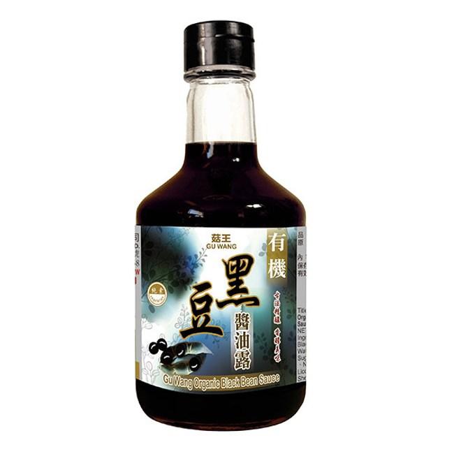 菇王.有機黑豆醬油露(12瓶/箱)
