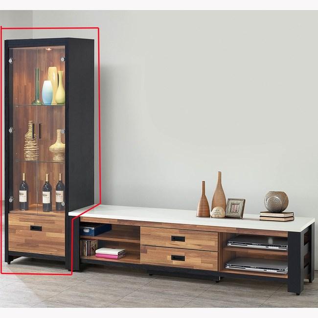 【obis】雙色積層木2尺展示櫃(積層木 2尺 展示櫃 展示櫃)