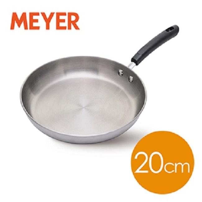 【MEYER】日本百年鋼導磁雙耳湯鍋20CM(新型不含鎳不銹鋼防過敏)