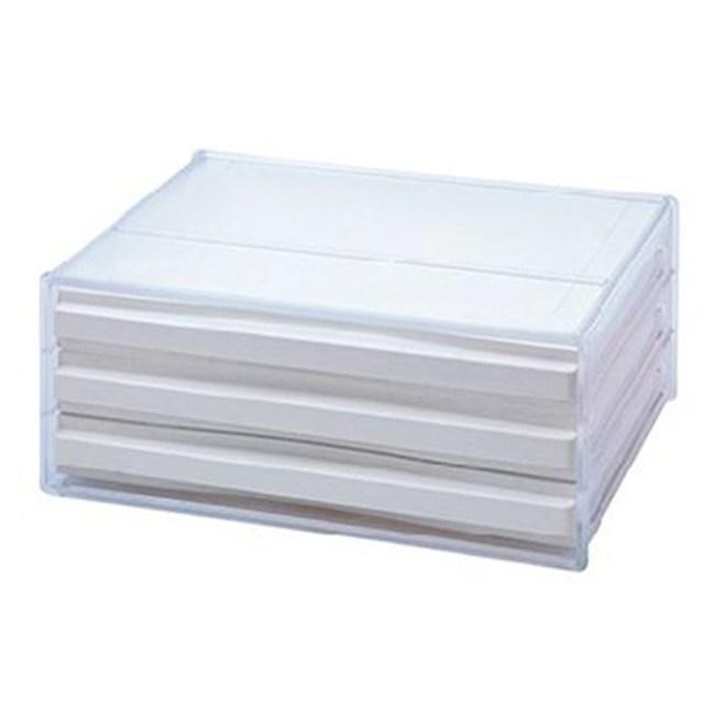 樹德SHUTER A4 橫式資料櫃DDH-103N 3入白色
