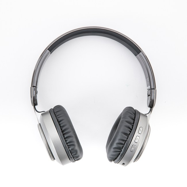 INTOPIC摺疊藍牙耳機麥克風JAZZ-979GR黑灰