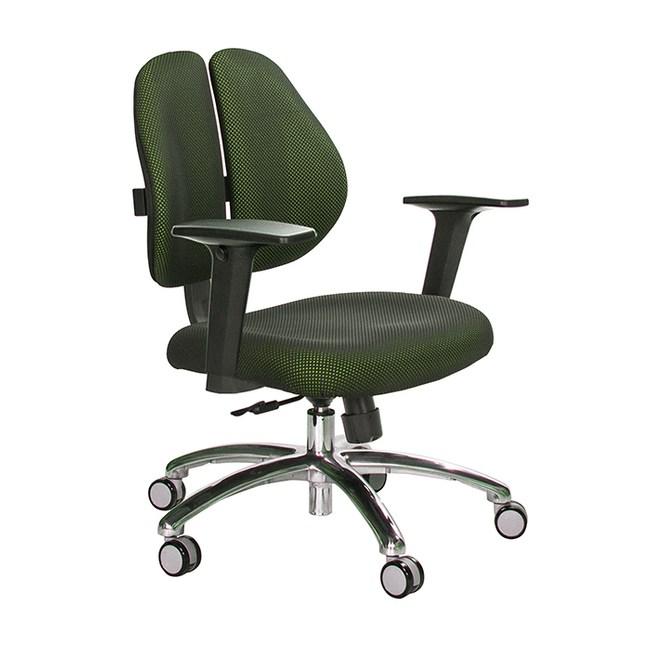 GXG 短背涼感 雙背椅 (鋁腳/2D升降扶手)TW-2992 LU2#訂購備註顏色