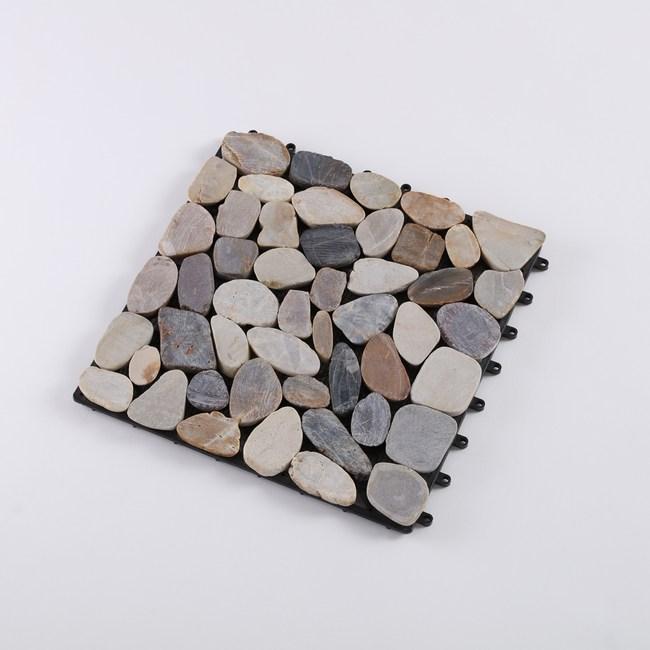 卵石拼接踏板