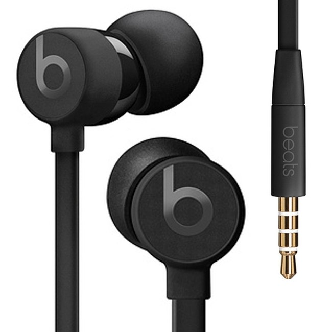 Beats urBeats3 3.5mm 黑色 耳道式耳機 線控MIC