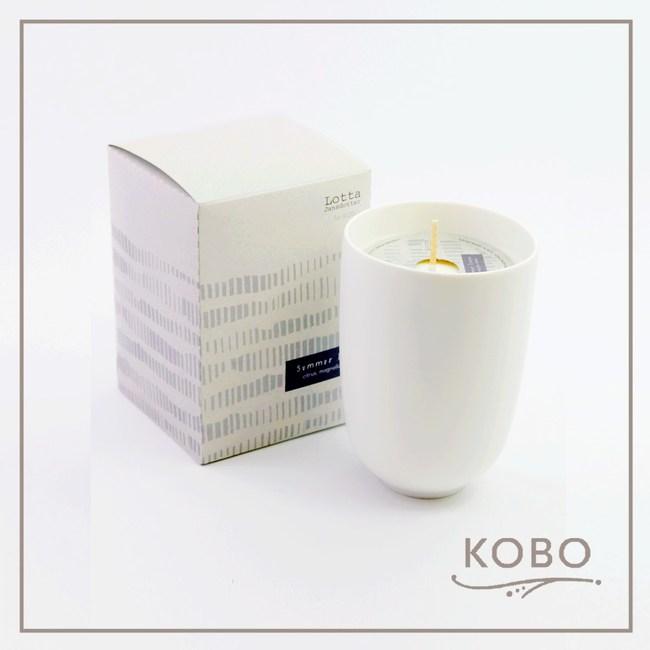 【KOBO】美國大豆精油蠟燭 - 夏日亞麻-330g/可燃燒70hr