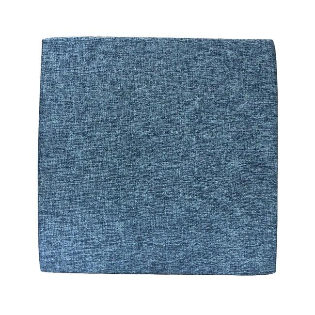 自然風格坐墊藍色55x55公分