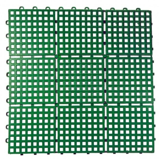 九格防滑墊39*39*1.5公分綠