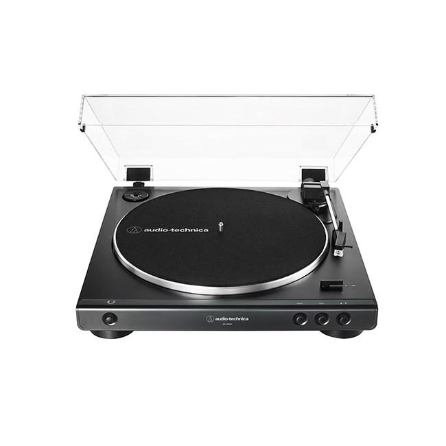 鐵三角 AT-LP60X 全自動播放型黑膠唱盤 黑色