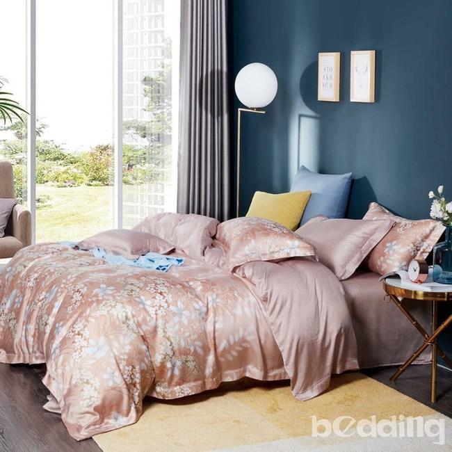 BEDDING-100%天絲四件式涼被床包組-莉絲(雙人)