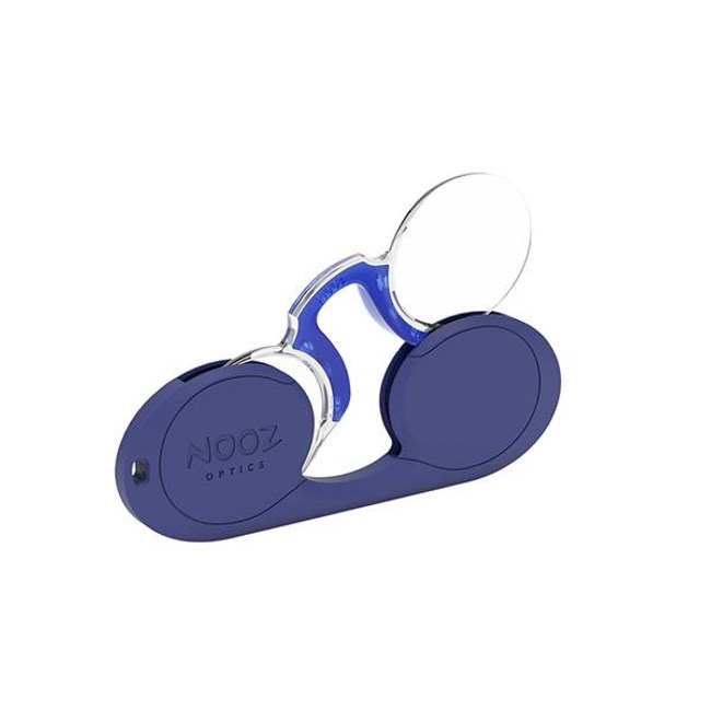 NOOZ 時尚造型老花眼鏡 - 橢圓形 藍100 度