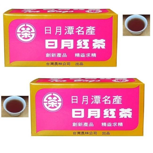 【台灣農林】日月紅茶2.4gx25包/盒(3盒組)日月紅茶2.4gx25包/盒