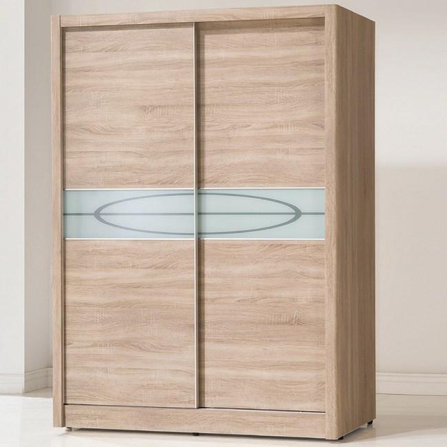 【YFS】傑森橡木紋5x7尺衣櫃-142x60x200cm