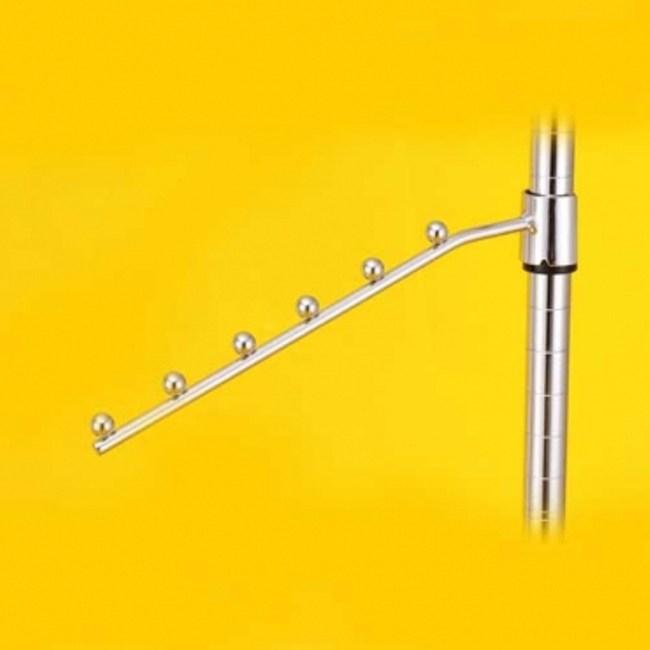 特力屋 PRO特選 鍍鉻六珠掛鉤 28cm