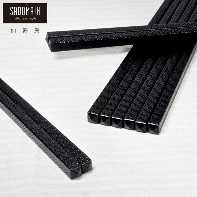 【仙德曼 SADOMAIN】高玻抗菌筷-雲海/10雙
