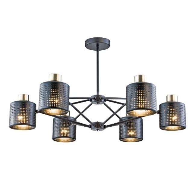 【YPHOME】特價輕工業風造型半吸頂6燈