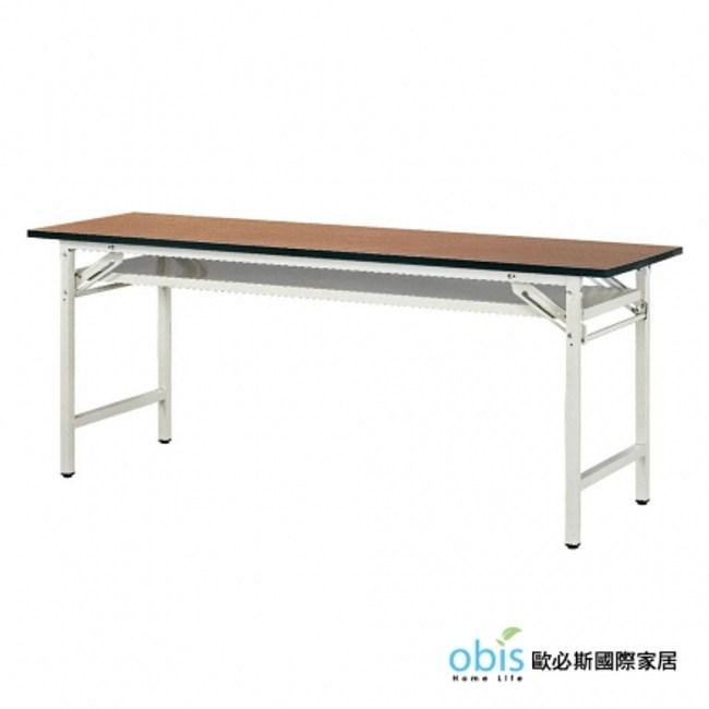 【OBIS】折角會議桌2尺(直角塑膠邊/木面)