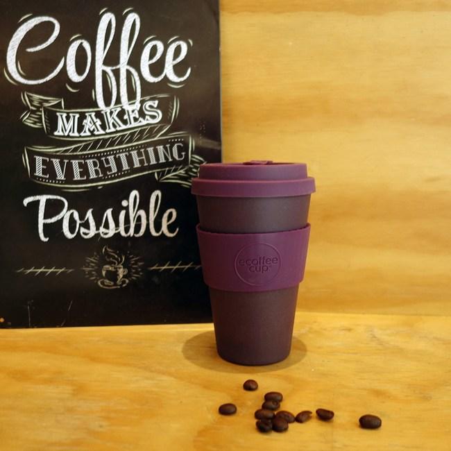 Ecoffee Cup 環保隨行杯14oz(黛紫)