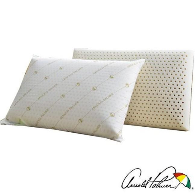 Arnold Palmer雨傘牌 透氣立體結構棉網乳膠枕2入