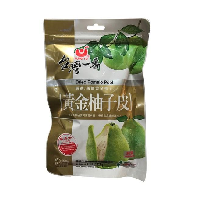台灣一番柚子皮150g