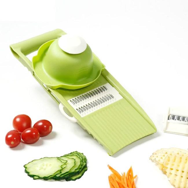 【PUSH!廚房用品】防切手5插片替換式磨碎沫刨絲器D26