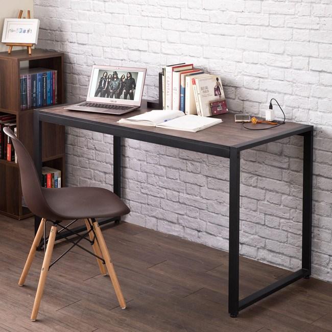 【TZUMii】德爾128cm寬穩固鐵管書桌